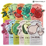 Tonymoly I'm Real Mask Sheet Pack Facial Mask Kit, 11 Ct
