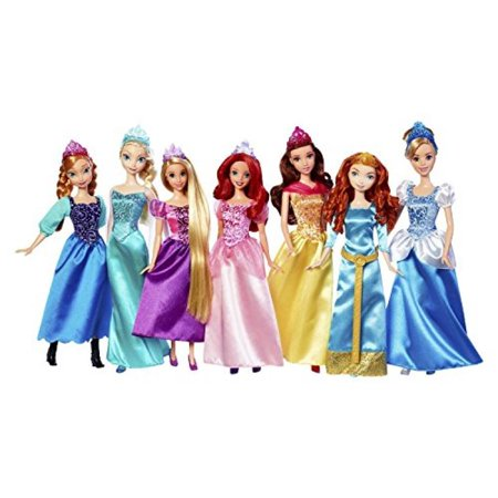 8494b48c2373 Disney Princess Royal Doll Collection 7-Pack - Walmart.com
