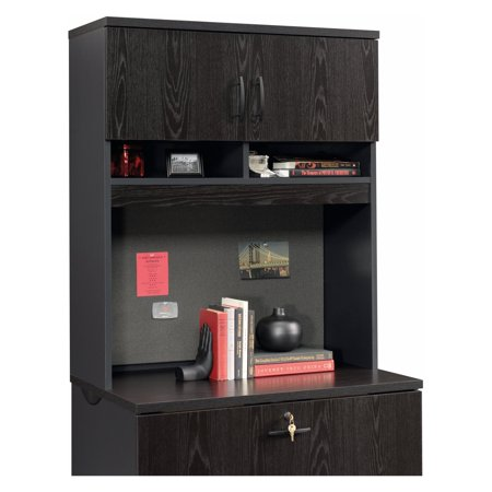 Sauder Via Lateral File Cabinet with Optional Hutch