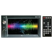 "Tview 6.1"" Double Din Touchscreen W/dvd Bluetooth Am/fm 4 X45 Watts"