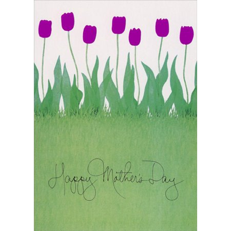Recycled Paper Greetings H. Mother's Day: Tulips Mother's Day