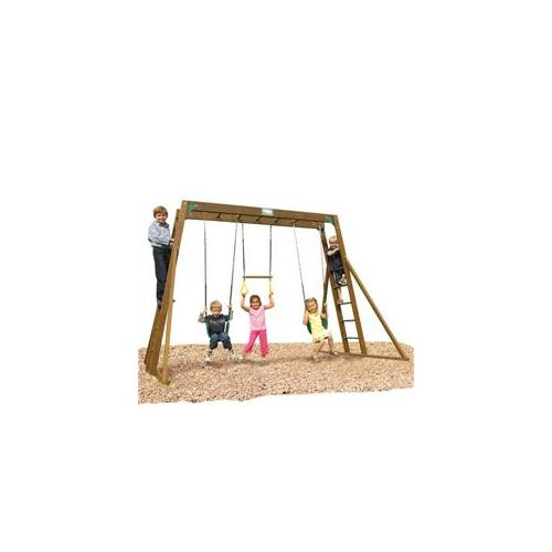 Playtime PS10CLATLR Classic Swing Set- Top Ladder With Rope Accessories