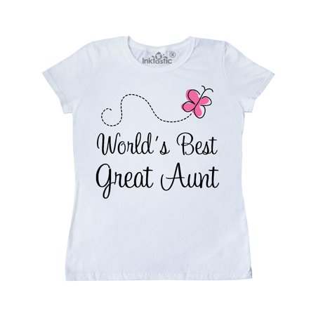 Worlds Best Great Aunt Women's T-Shirt