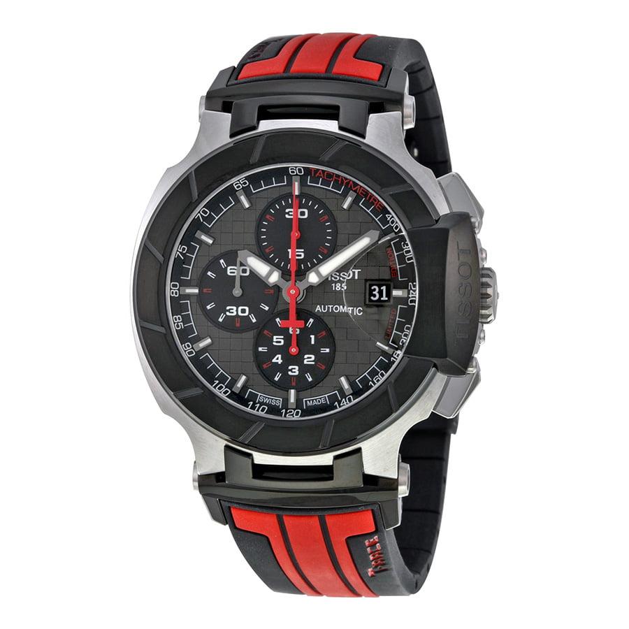 Tissot T-Race Motogp Chronograph Automatic Grey Dial Blac...