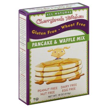Cherrybrook Kitchen Gluten Free Pancake And Waffle Mix 18 Oz Pack Of 6