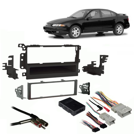 Fits Oldsmobile Alero 01-04 Single DIN Stereo Harness Radio Install on
