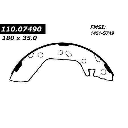 OE Replacement for 2000-2002 Hyundai Accent Rear Drum