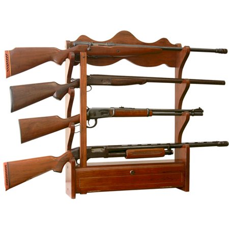 Ride Gun Rack - 4 Gun Wall Rack