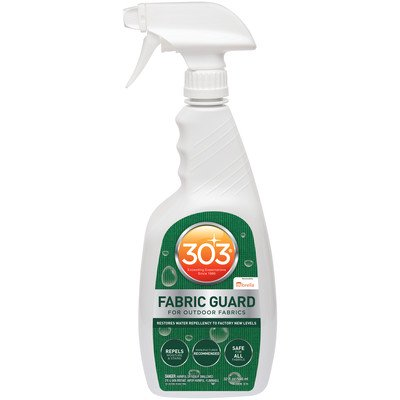 303 (30605) Fabric Guard Water Repellent, Safe for all Fabrics, 16 fl