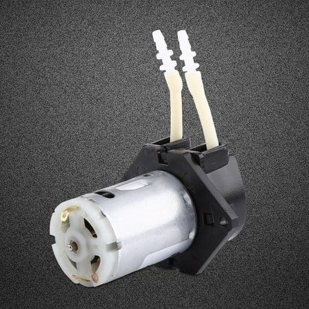 Laboratory Pump - Anauto Dosing Pump 12V DC Peristaltic Liquid Pump Hose Pump Dosing Head for Aquarium Lab