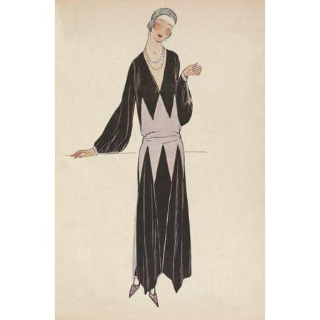 Soeurs David Gazette Du Bon Ton 1922 Gown 6 Poster Print By Soeurs