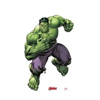 Hulk (Avengers Animated) Cardboard Stand-Up, 5ft