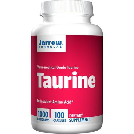 Jarrow Formulas Taurine, Brain and Memory Support, 1000 mg, 100 Caps