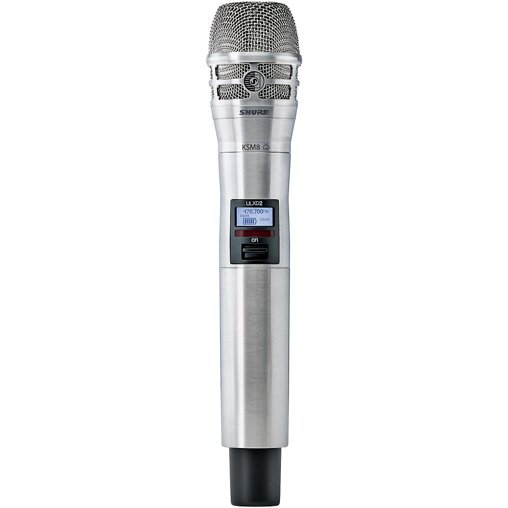 Shure ULXD2 K8N Handheld Transmitter with KSM8 Capsule in Nickel Band H50 by Shure