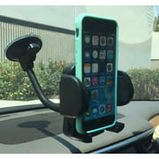 EMPIRE Cell Phone / Mobile Phone Car Windshield Flexible Arm Mount and Adjustable Claw (with Air Vent Attachment)