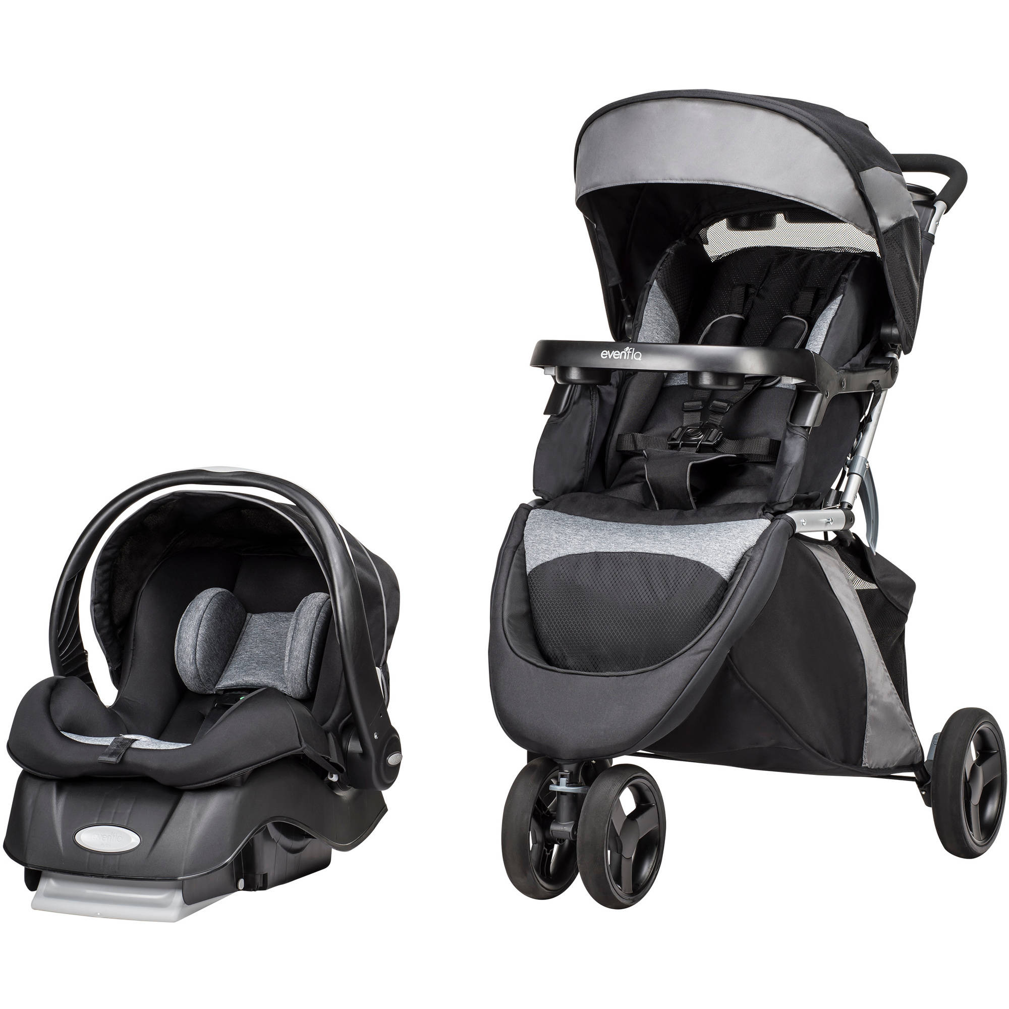 Evenflo Advanced SensorSafe Epic 3 in 1 Travel System