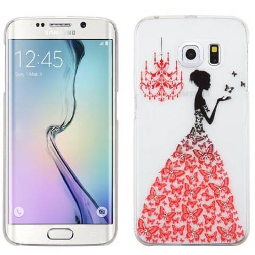 Samsung Galaxy S6 Edge MyBat Embossed Painting Back Protector Cover