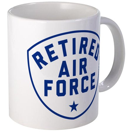 CafePress - Retired Air Force - Unique Coffee Mug, Coffee Cup