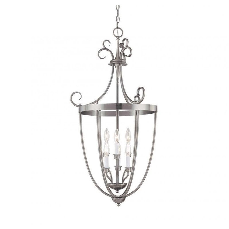 Savoy House Entry Lantern Foyer 3 Light in Pewter - image 1 of 1