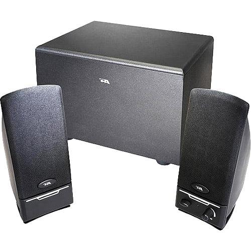 Cyber Acoustics 3-Piece Subwoofer & Satellite Speaker System