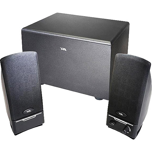 Cyber Acoustics 3-Piece Subwoofer & Satellite Speaker System