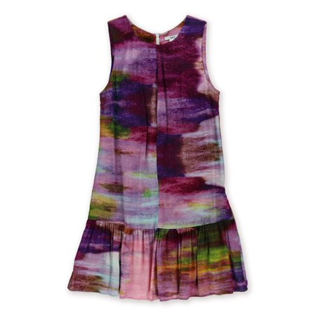 Watercolor Dresses (bar III Womens Watercolor Print Dropped Waist)