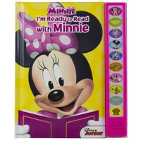 Play-A-Sound: Disney Minnie Mouse: I'm Ready to Read with Minnie (Hardcover)