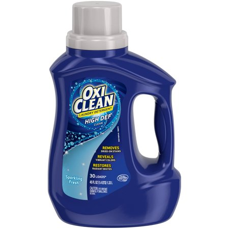 Oxiclean™ High Def Clean Sparkling Fresh Scent Laundry Detergent 45 fl. oz. Plastic (Oxiclean Laundry Detergent)