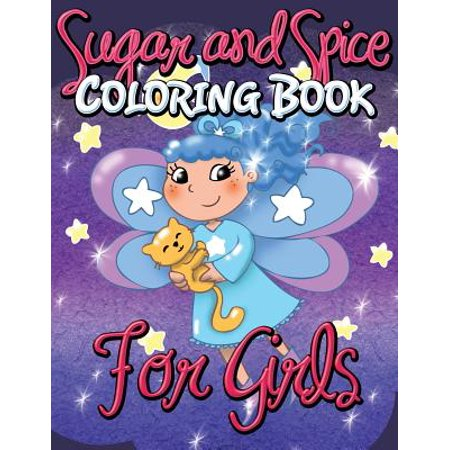 Sugar and Spice Coloring Book for