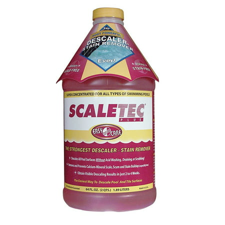 EasyCare 20064 Scaletec Plus Descaler and Stain Remover, 64 oz. Bottle ()