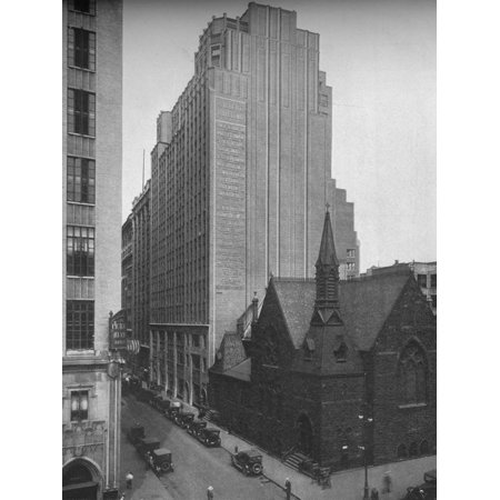 General exterior view, Gilbert Building, 205 West 39th Street, New York City, 1923 Print Wall (39th Street)