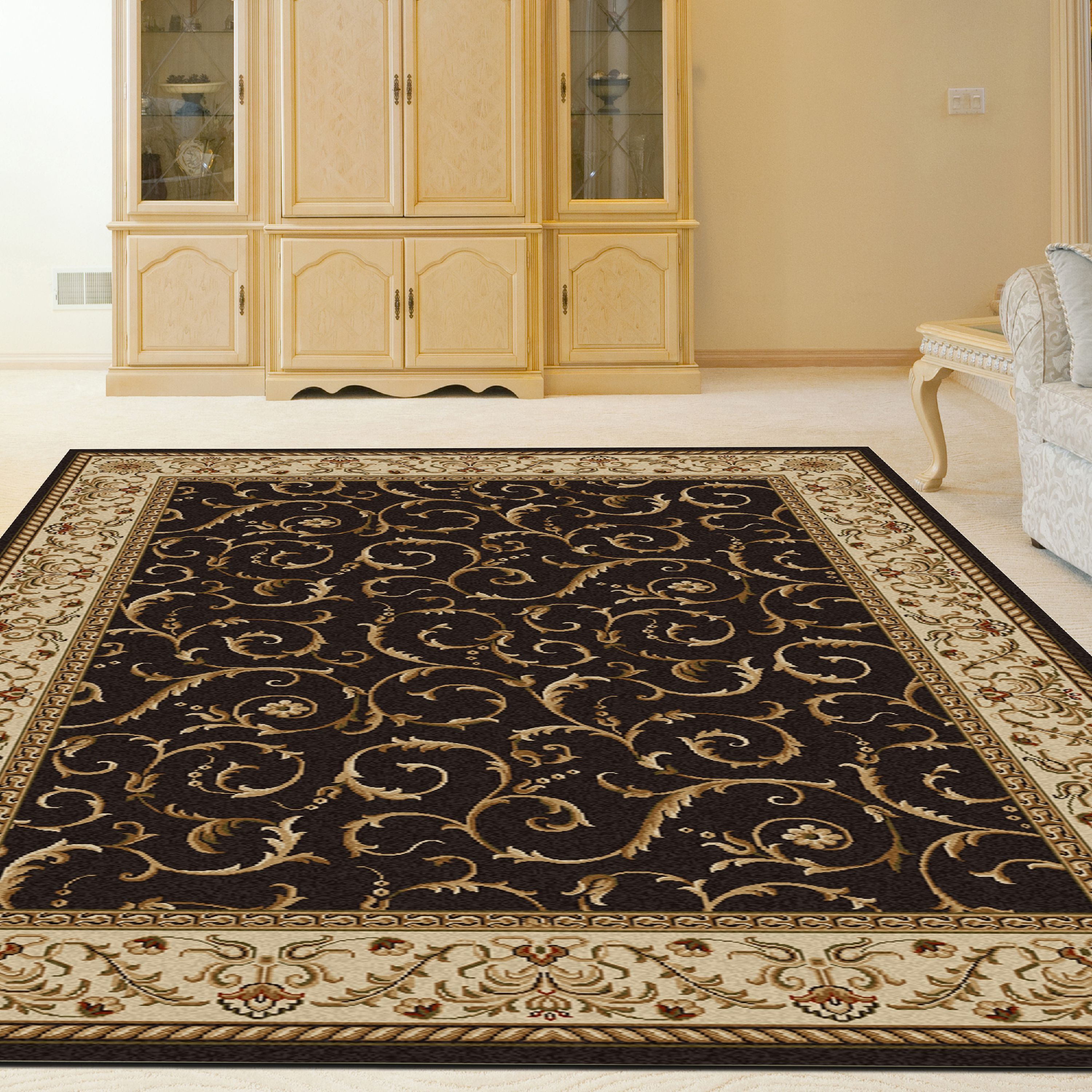 Radici USA Como 1599 Area Rug - Brown