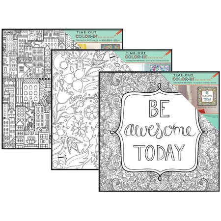 Format Colour - MCS Time-Out Color-In Format Frame For 12x12 - Whimsy