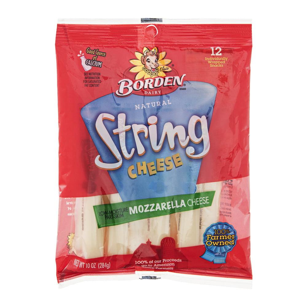 Borden Mozzarella Cheese String, 10.0 OZ