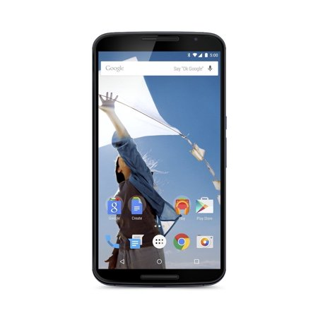 Motorola Nexus 6 Unlocked Cellphone, 32GB, Midnight Blue (Certified