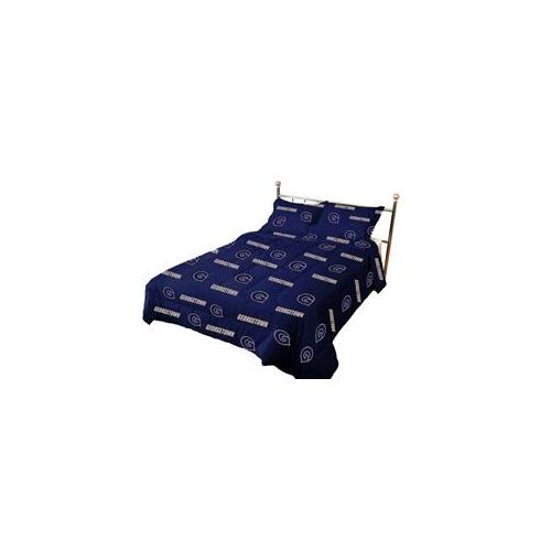 College Covers GTWCMFL Georgetown Comforter Set Full- Rotary- Solid