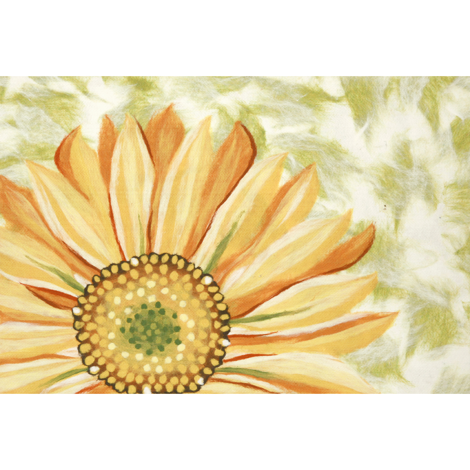 "Liora Manne Visions IV Sunflower Indoor/Outdoor Mat Yellow 20""X29.5"""