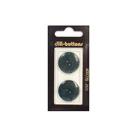 Burton Two Light - Dill Buttons 23mm 2pc 2 Hole Dark Green