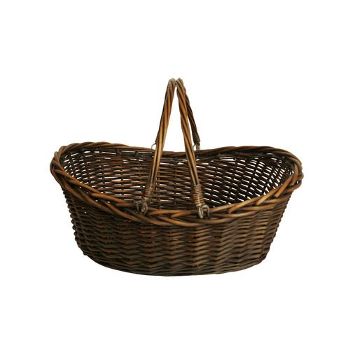 August Grove Decorative Storage Willow Wicker Basket by