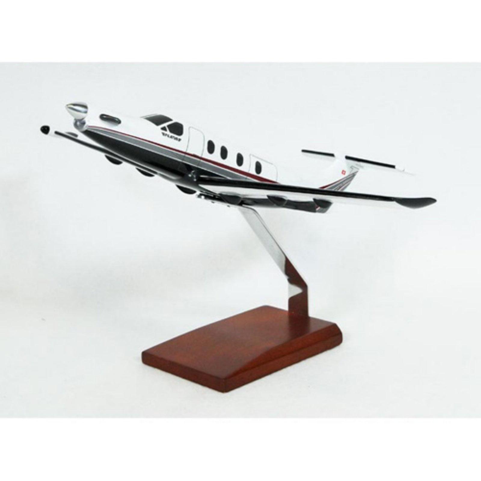 Daron Worldwide Pilatus PC-12 Pinnacle Model Airplane by DARON