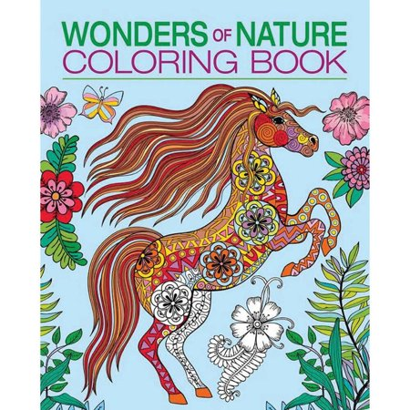 wonders of nature coloring book - Nature Coloring Book