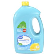 (2 Pack) Great Value Automatic Diswasher Gel, Lemon Scent, 75 fl
