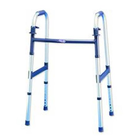 - INVACARE CORPORATION INV6291A 1 Each Single I-Class Dual-Release Light Folding Walker Height adjusts 30(3/8) x 37(3/8) Adult Fits usersB 5'3 to 6'4 Warranty INVACARE CORPORATION 6291A