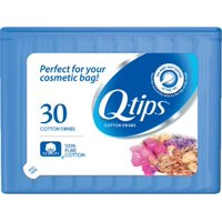 Q-tips Cotton Swab Purse Pack Cosmetics 30 ct