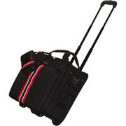 "17.3"" Notebook Travel Roller Black with Red Stripe"