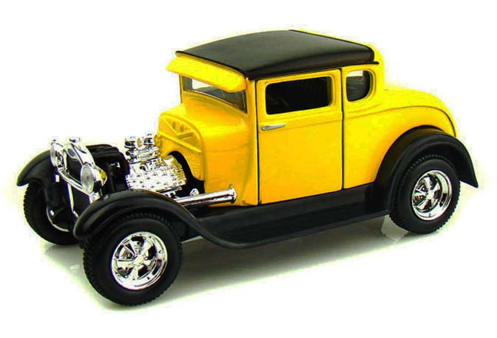 1929 Ford Model A, Yellow Maisto 31201 1 24 Scale Diecast Model Toy Car by Maisto