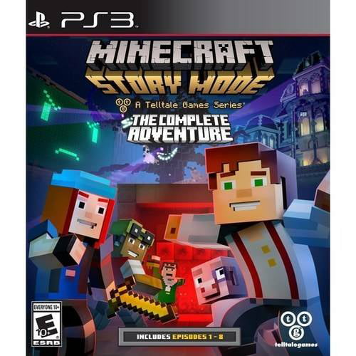 Minecraft Story Mode The Complete Adventure (Playstation 3) by TELLTALE
