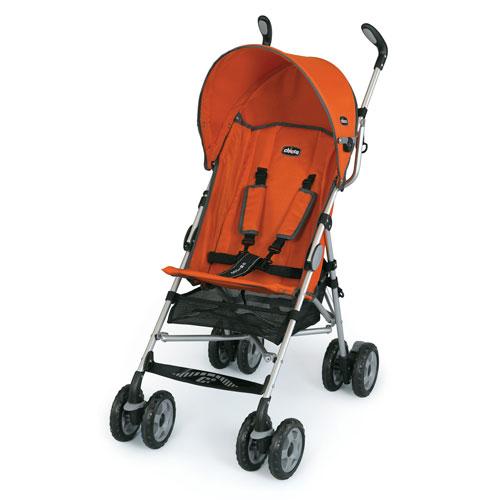 Chicco - C6 Lightweight Stroller, Tangerine