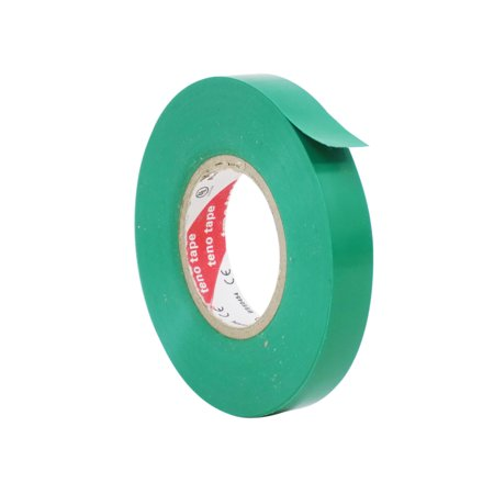 WOD EL-766AW Professional Grade Electrical Tape General Purpose Green UL/CSA listed core: 1/2 inch X 66 ft - Use At No More Than 600V & 176F