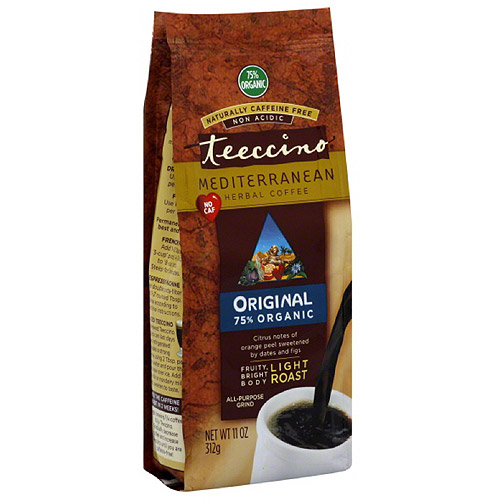***Discontinued by kehe 10_23***Teeccino Original Light Roast Herbal Coffee, 11 oz, (Pack of 6)